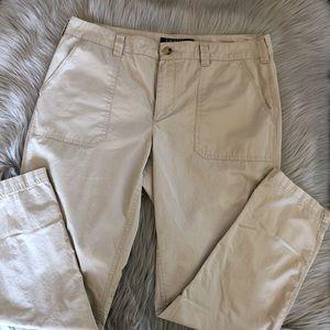 Lauren Ralph Lauren Denim | Tan Ankle Khaki Pants